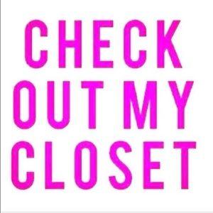 Welcome to my closet 😊